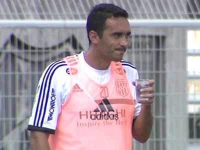 Tiago Alves, Ponte Preta (Foto: Reprodução EPTV)