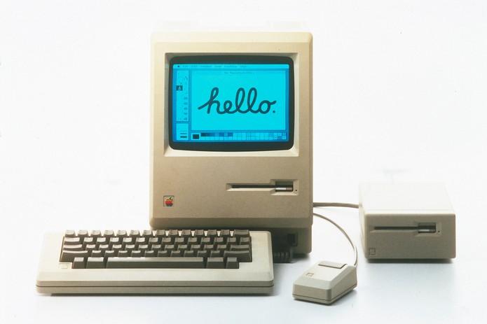Macintosh revolucionou com interface gráfica a preço mais baixo (Foto: Divulgação/Apple)
