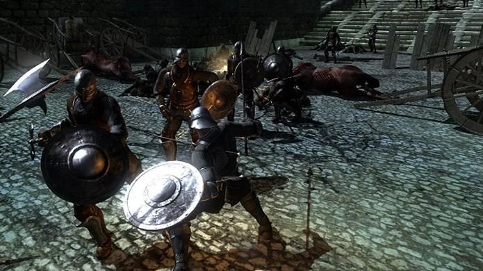 Demons Souls serviu como base para Dark Souls (Foto: Divulgação/From Software)