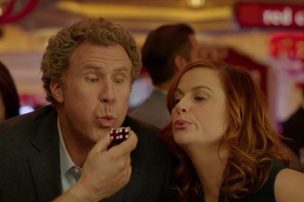 Will Ferrell e Amy Poehler no trailer de 'The House' (Foto: Reprodução)