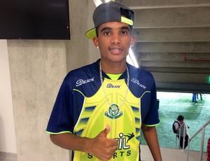 Emerson - atacante Palmeira (Foto: Klênyo Galvão/GloboEsporte.com)
