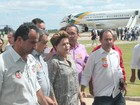 Dilma cumpre agenda hoje no Sertão de PE (Amanda Franco / G1)