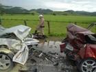 Mãe e filha morrem em acidente de trânsito em Ilhota, no Vale do Itajaí
