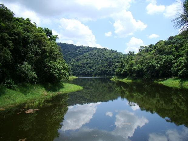 Nem parece São Paulo... o Parque Estadual da Cantereira fica na Zona Norte é uma excelente opção de atração natural (Foto: Davis Alves Santana/VC no G1)