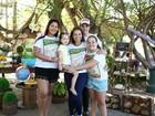 Solange Almeida faz festa para a filha Estrela em parque em Fortaleza