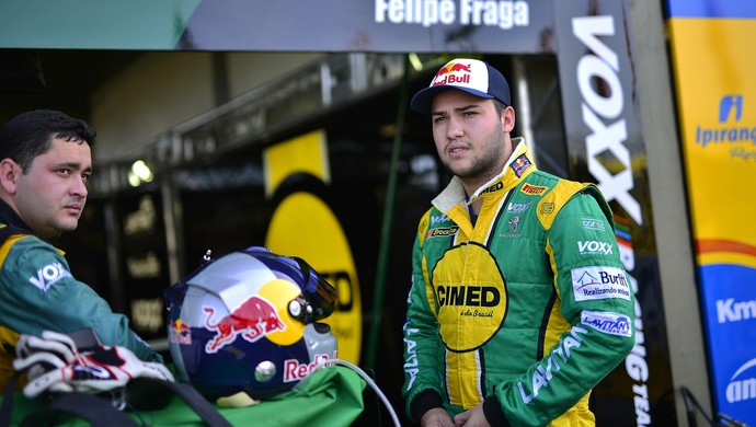 Felipe Fraga quer ajudar equipe na reta final da Stock Car (Foto: Bruno Gorski/ Hyset/ RF1)