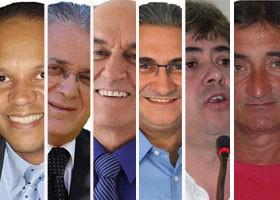 Candidatos de Poços de Caldas fazem debate neste sábado na EPTV. (Foto: Arte G1)