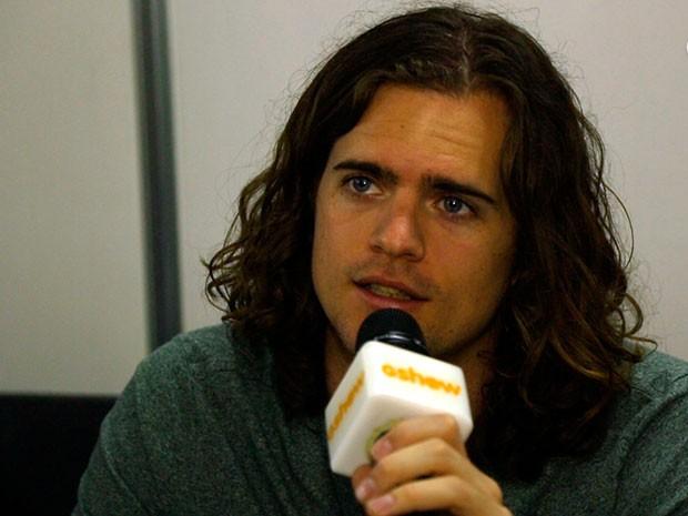 Dylan Kongos fala sobre o show no Lollapalooza (Foto: Gshow)