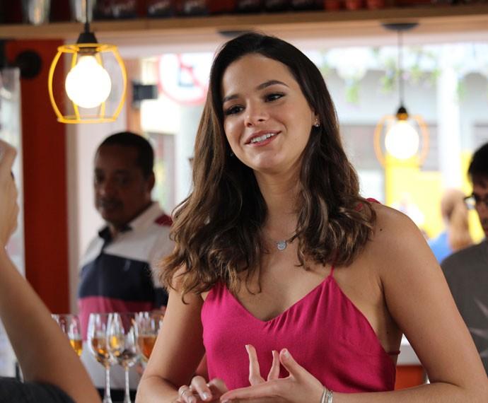 'Queria que ela fosse mais mulher do que outros personagens que fiz', diz Bruna sobre Mari (Foto: Ariane Ducati/Gshow)