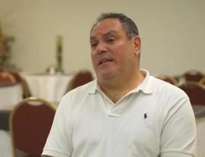 Pablo Silva, co-criador do spray ao lado de Heine (Foto: Reprodução SporTV)