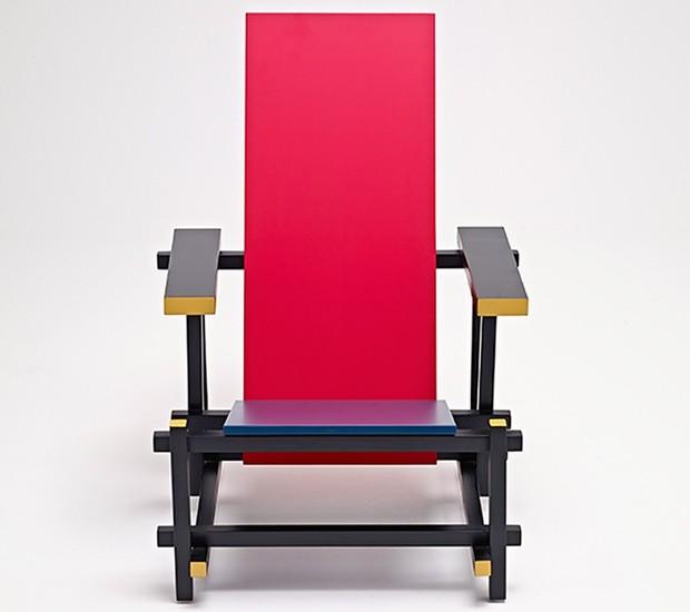 centenário-poltrona-red-and-blue -design-moderno-gerrit-rietveld-1 (Foto: Divulgação)