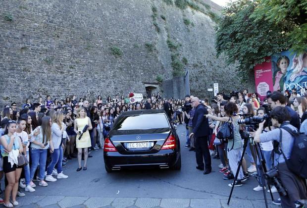 Casamento Kim Kardashian e Kanye West (Foto: Agência Reuters)
