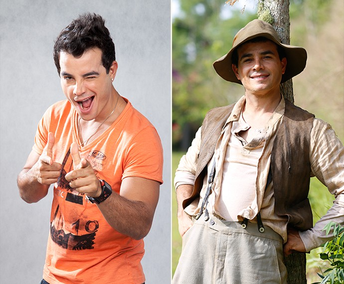 Anderson foi Carlito em 'Amor à Vida' e será José dos Porcos em 'Êta' (Foto: Ellen Soares/Gshow)