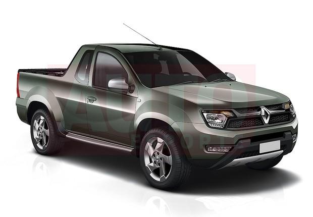 Nova picape da Renault será derivada do utilitário esportivo Duster (Foto: Renato Aspromonte/Autoesporte)