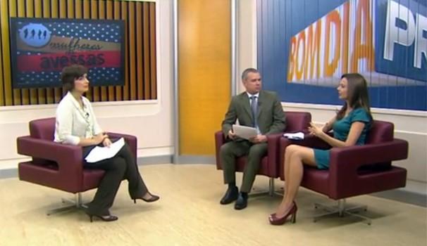 Bom Dia Paraná Mulheres às Avessas (Foto: Reprodução/ RPC TV)