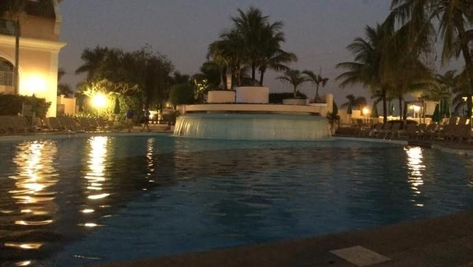 Hotel The Palms resort Campinas Portugal Copa do Mundo (Foto: Murilo Borges)