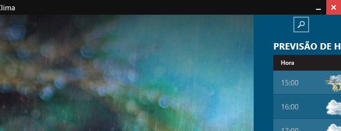Barra de título em aplicativo moderno (Foto: Reprodução/Helito Bijora)