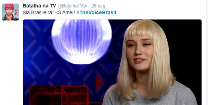 Sia Voice (Foto: Reprodução/Internet)