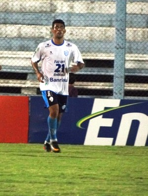 Marlon marcou o gol do Novo Hamburgo (Foto: Elenise Martins/Divulgação)