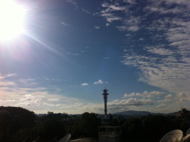 Porto Alegre teve 6,3°C no amanhecer deste domingo (5) (Foto: Rafaella Fraga/G1)