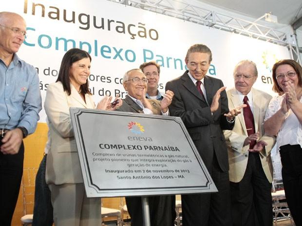 Complexo Parnaíba é inaugurado com presença da Governadora e Ministro Edison Lobão. (Foto: Divulgação)