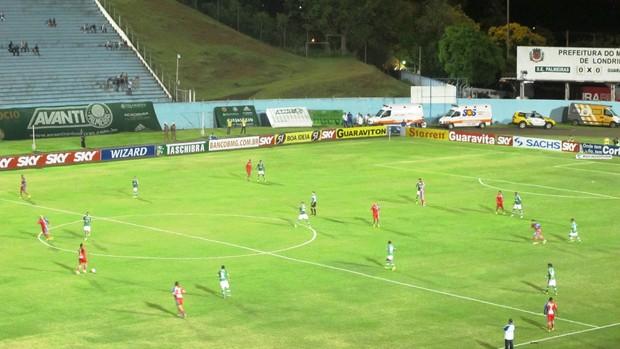 Palmeiras x Guaratinguetá (Foto: Marcelo Hazan)
