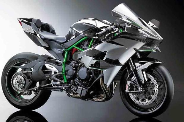 Kawasaki Ninja H2R (Foto: divulgação)