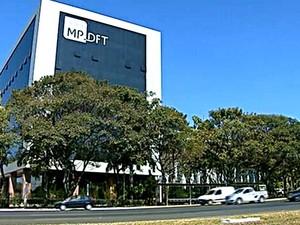 Prédio do Ministério Público do Distrito Federal (Foto: Reprodução/TV Globo)