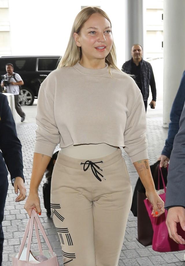 Sia revela o rosto (Foto: AKM-GSI)