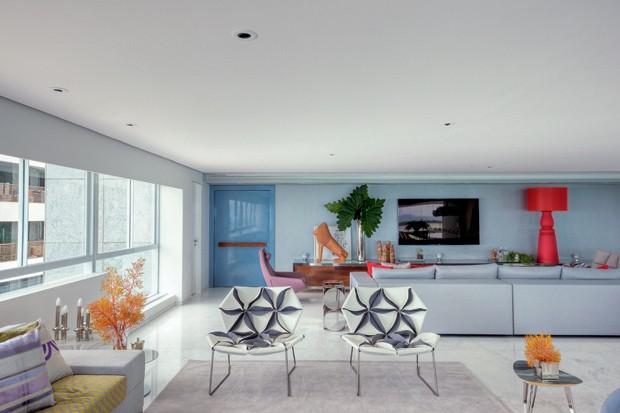 Apartamento de 400 m² aberto à praia de Boa Viagem