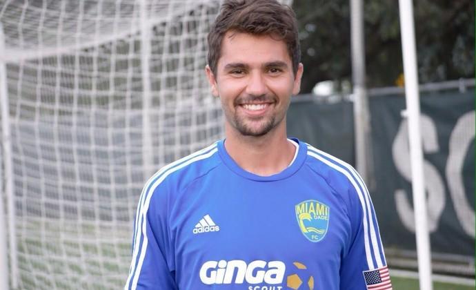 Rodrigo Siqueira Miami Dade (Foto: Miami Dade FC / Divulgação)