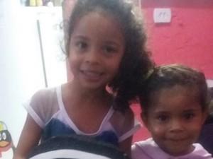 Segundo a polícia, irmãs de 4 e 2 anos foram mortas pelo pai (Foto: Paulo Henrique da Silva/Arquivo Pessoal)