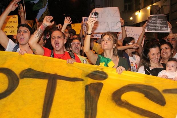 Christine Fernandes (Foto: Leo Marinho e Rodrigo dos Anjos / AgNews)