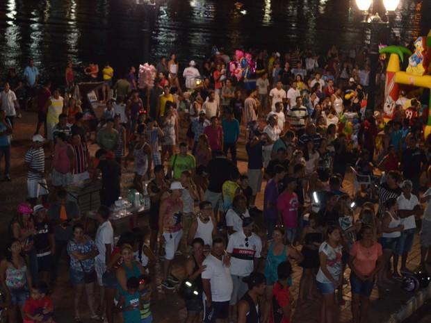 Urubu cheiroso no carnaval no Acre (Foto: Yuri Marcel/G1)