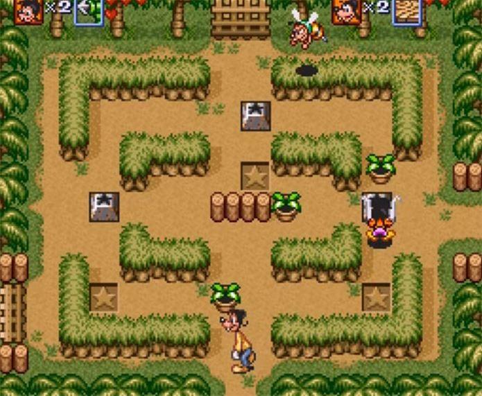 Goof Troop ficou popular no Brasil em cartuchos de coletânia de jogos (Foto: Reprodução / GamingIlustraded) (Foto: Goof Troop ficou popular no Brasil em cartuchos de coletânia de jogos (Foto: Reprodução / GamingIlustraded))