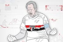 Ceni mostra 7 passos para cobrar faltas (arte esporte)