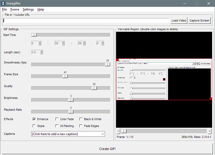 Instagiffer cria Gifs com vídeos do YouTube no PC (Foto: Reprodução/Paulo Alves)