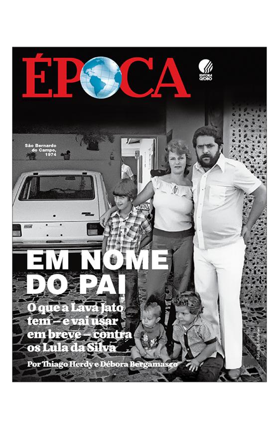 Capa Revista Época edição 1021 (Foto: Bob Wolfeson)