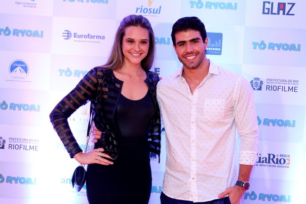 Juliana Paiva e Juliano Laham (Foto: Anderson Borde / Ag News)