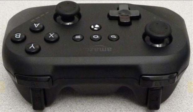 Detalhe do suposto controle de videogame da Amazon vazado pela Anatel (Foto: Reprodução/Anatel)