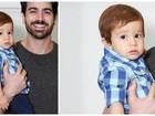 Ruivo, filho de Adriana Sant'anna puxou a família de Rodrigão