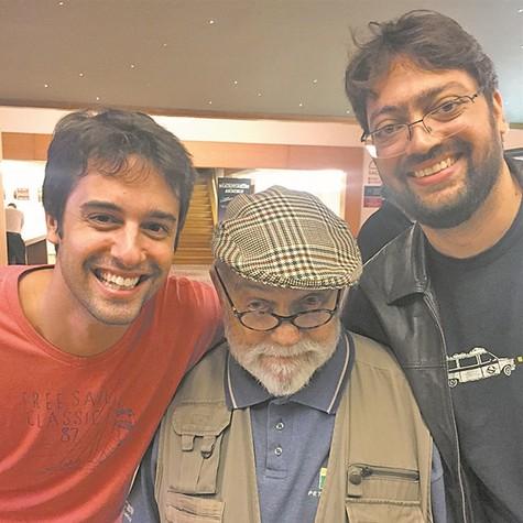 Rafael Studart, Antônio Pedro e Fernando Caruso (Foto: Arquivo pessoal)