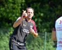 """Com Breno e """"touchdown"""", Ceni dá primeiro treino no São Paulo; veja fotos"""