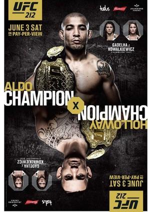 Pôster UFC Rio  (Foto: Divulgação)