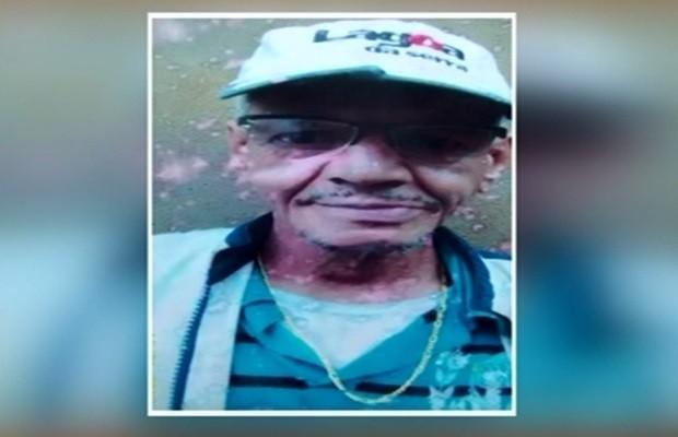 Vilmar Pereira Vasconcelos, 63, morreu após mais de dois meses hospitalizado, em Goiás (Foto: Reprodução/TV Anhanguera)