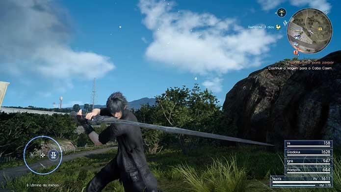 Como encontrar e desbloquear as Armas Reais em Final Fantasy XV