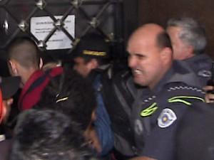Confusão reintegração de posse em São Paulo (Foto: Reprodução)