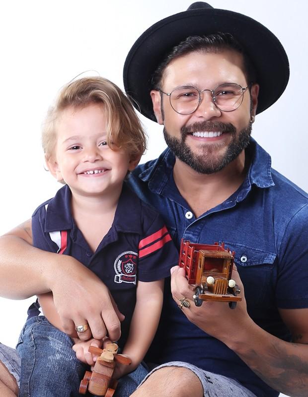 Léo MArcos e Marcos (Foto: Roni Sanches)