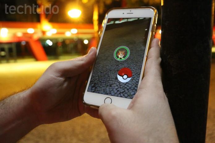Pokémon GO (Foto: Ana Marques/TechTudo)