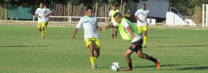 Flamengo-PI 4 x 1 Racing - Amistoso (Foto: Emanuele Madeira/GloboEsporte.com)